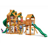 Image of Gorilla Treasure Trove I Swingsets In Sunbrella® Or Standard Woodroof - Jumpin Jungle
