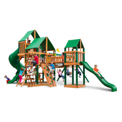 Gorilla Treasure Trove I Swingsets In Sunbrella® Or Standard Woodroof