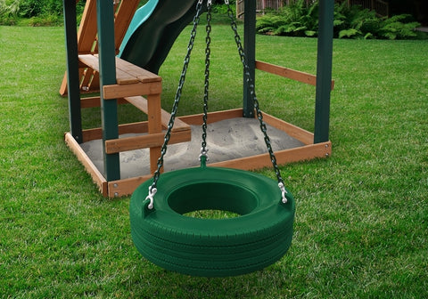 Gorilla Swingset 360° Turbo Tire Swing Accessory - Jumpin Jungle