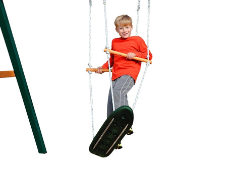Gorilla Swingset Skateboard Swing Accessory - Jumpin Jungle