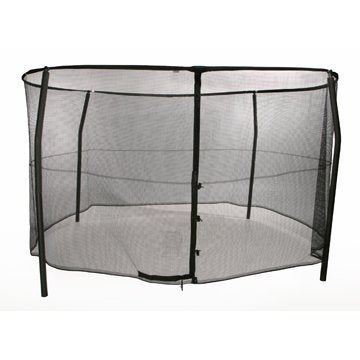 Bazoongi Safety Enclosure System For Trampolines With Straight Poles - Jumpin Jungle