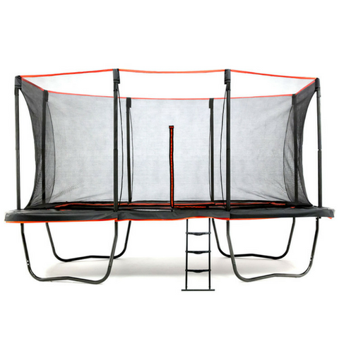 "SKYBOUND ""HORIZON"" 11 X 18 FT RECTANGLE TRAMPOLINE WITH FULL SAFETY NET ENCLOSURE SYSTEM"
