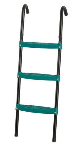 "Upper Bounce 40"" Trampoline 3-Step Foldable Green Ladder - Jumpin Jungle"