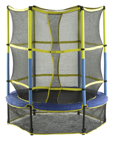 "Upper Bounce 55"" Kid Trampoline For Toddlers With Enclosure Set - Jumpin Jungle"