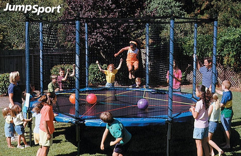 Jumpsport Trampoline Game And Party Pack for Kids - Jumpin Jungle