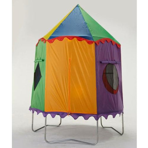 Bazoongi 7.5 Ft Round Jump Pod Trampoline Circus Enclosure Cover - Jumpin Jungle
