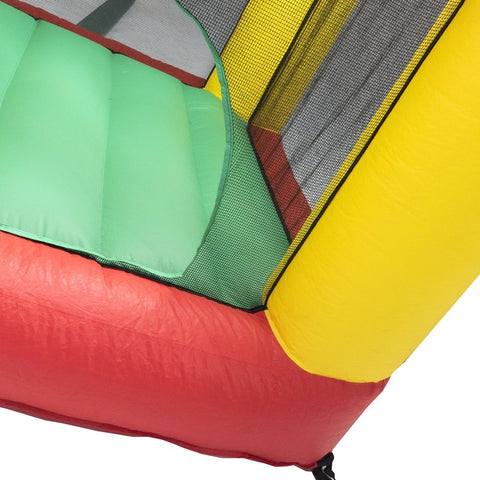 Bazoongi 6.25' X 6' Bounce House with Open Roof (Without Cover) - Jumpin Jungle