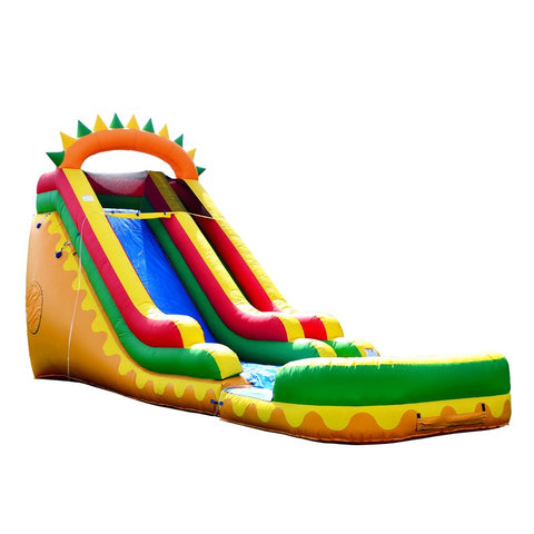Jumporange 18′ Dino Fun Super Wet/Dry Slide - Jumpin Jungle