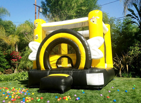 Jumporange Busy Bee Party House - Jumpin Jungle