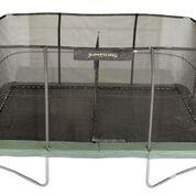Jumpking 10X15 Rectangle Trampoline With Safety Enclosure Net