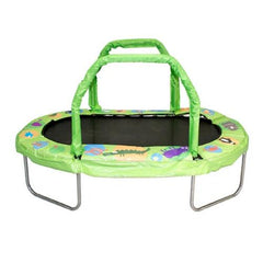 "Jumpking Mini Trampoline For Kids Oval 38""X 66"" With Pad Handles - Jumpin Jungle"