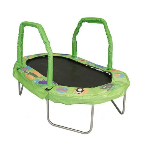"""Jumpking Mini Trampoline For Kids Oval 38""""X 66"""" With Pad"""