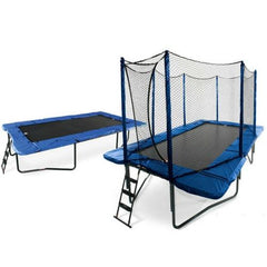 Jumpsport Trampoline 10 X 17 Ft Rectangle With Safety Enclosure Net