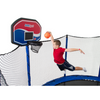 Image of Jumpsport Trampoline 5 Inch Orange Basketball For Kids - Jumpin Jungle