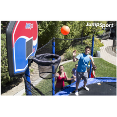 Jumpsport Trampoline 5 Inch Orange Basketball For Kids