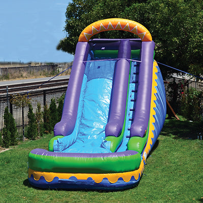 Jumporange 18′ Sunrise Super Wet/Dry Slide - Jumpin Jungle