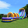 Image of Jumporange 18′ Sunrise Super Wet/Dry Slide - Jumpin Jungle