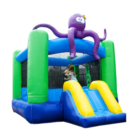 Jumporange Lil Lady Octopus Bounce House - Jumpin Jungle