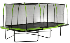 Upper Bounce 10X17 Mega Rectangle Trampoline With Safety Enclosure System