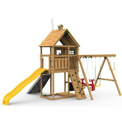 The Playstar Legacy Silver Factory Built Wooden Playset - Jumpin Jungle