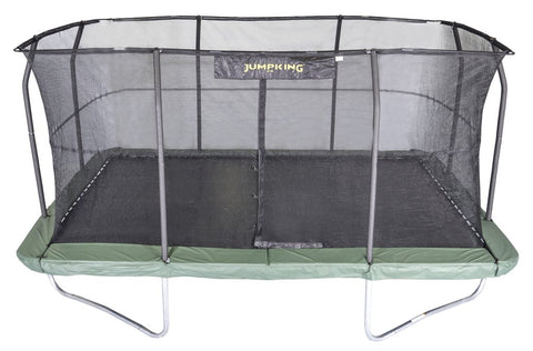Jumpking 10X15 Rectangle Trampoline With Safety Enclosure Net - Jumpin Jungle