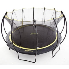 Skybound Stratos 15Ft Super Bouncy Huge Trampoline With Enclosure Net - Jumpin Jungle