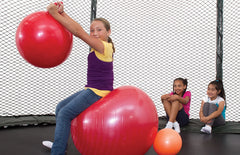 Jumpsport Red Gigantic 40 Inch Fun Ball For Trampolines