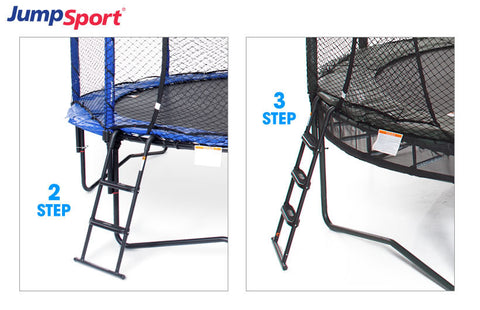 Jumpsport Surestep 3 Step Ladder For 37 To 41 Inch Trampolines - Jumpin Jungle