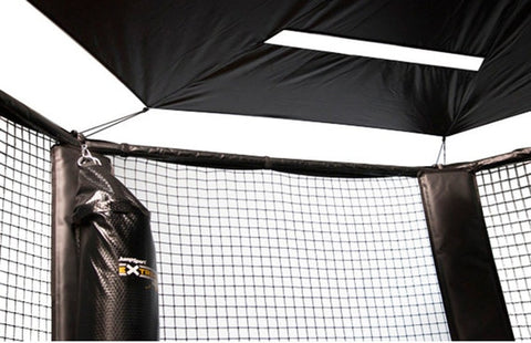 Jumpsport Black Sunshade Canopy For 12 And 14 Ft Trampolines - Jumpin Jungle
