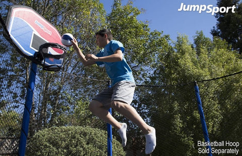 Jumpsport The Touch 7 In Trampoline Basketball For Kids - Jumpin Jungle