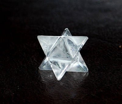 Quartz Merkaba Star 12 Point