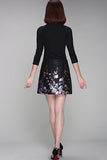 MARNI FLORAL LEATHER SKIRT NOW $110