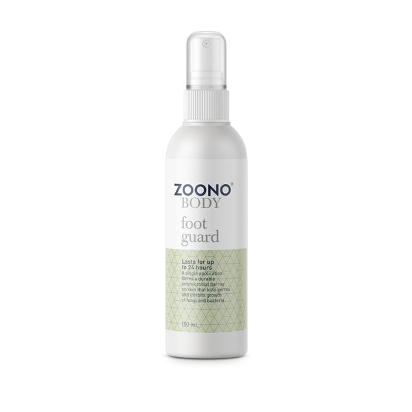 Zoono Organic Anti-Bacterial Foot Guard  - 24 Hour Protection (50/150mL)