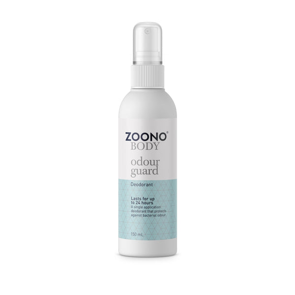 Zoono Organic Alcohol-Free Deodorant - Odor Guard - 24 Hour Protection (50/150mL)