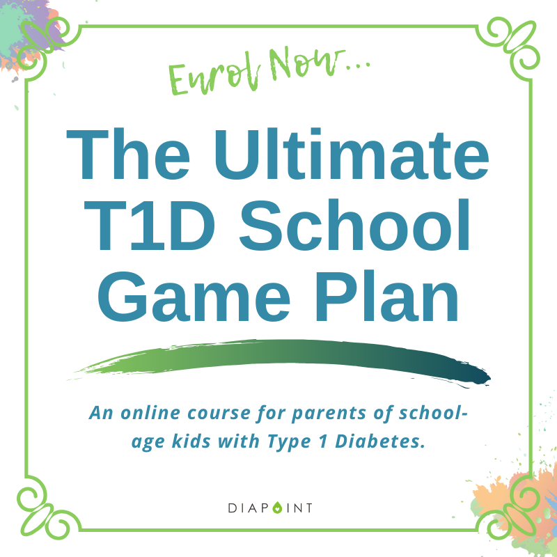 The Ultimate T1D School Game Plan – Online Course
