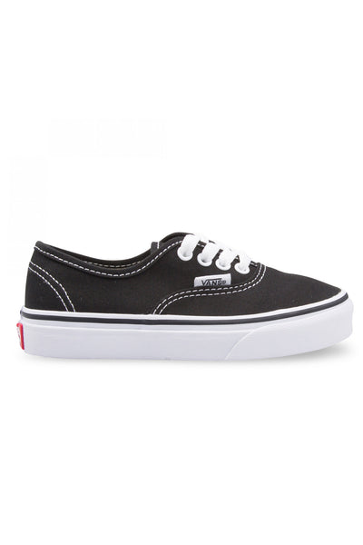 Vans - Authentic Youth Black White