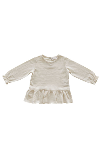 Slub Cotton Bailey Tee Cloud