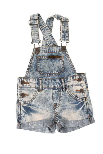 Denim Overalls Blue