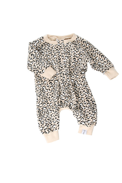 Cheetah Bubble Romper
