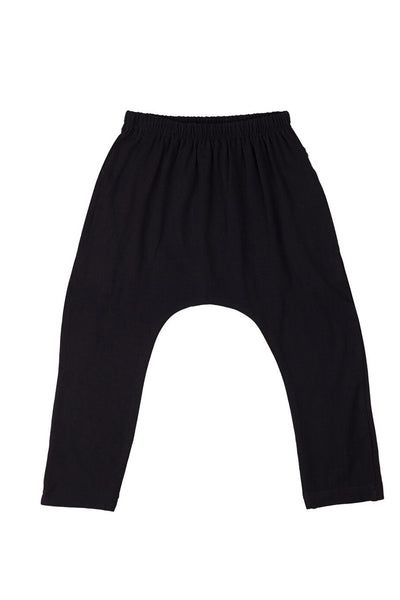 Chillax Pant Black Placement Print