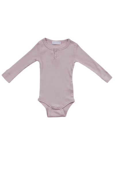 Cotton Bodysuit Violet Ice