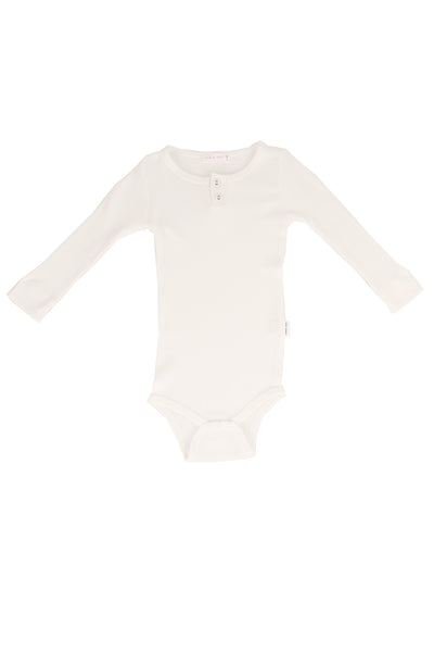 Cotton Modal Bodysuit Milk