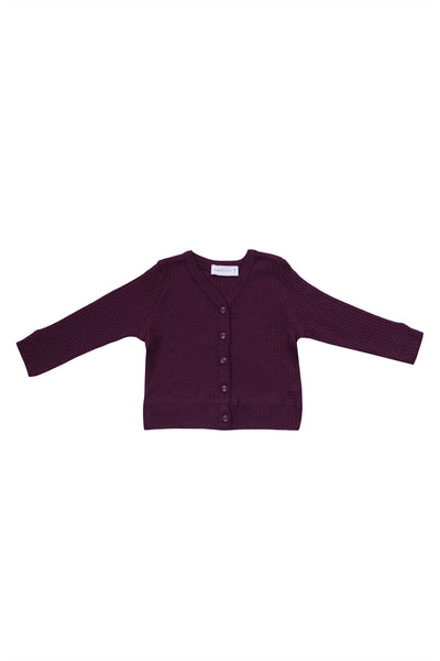 Cotton Modal Cardi Fig