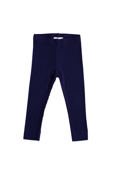 Cotton Modal Leggings Navy