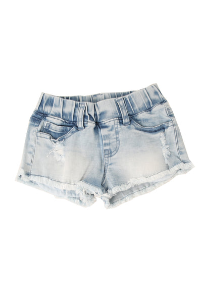 Daisy Duke Shorts Blue Distressed