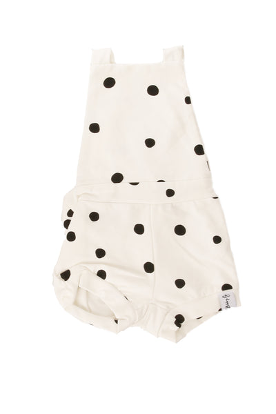 Dotty Summer Romper White