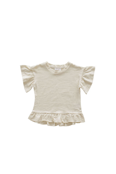 Slub Cotton Eden Top Cloud