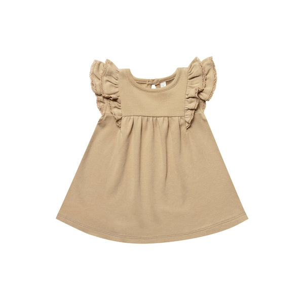 Flutter Dress Short Sleeve Honey