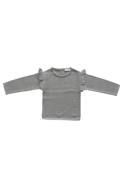 Flutter Knit Grey