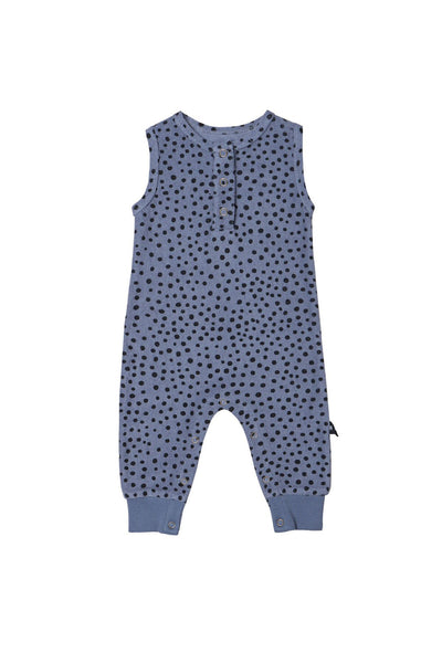 Freckle Jumpsuit Deep Blue